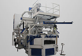Satellite table blast machine RDT-S