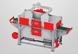 RSAB370-T1+1 wire mesh belt machine